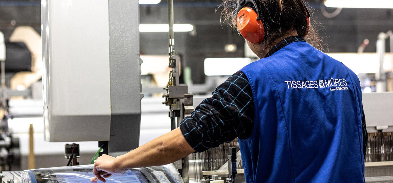 Partenariat upcycling - Tissage de Mûres - Groupe Diatex